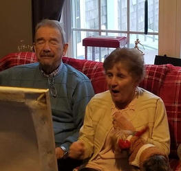 Mr. & Mrs. Doody Painting Reveal