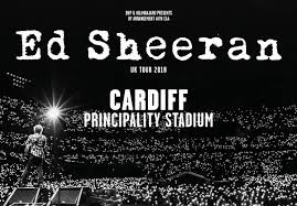 ED SHEERAN - PRINCIPALITY STADIUM CARDIFF 2018