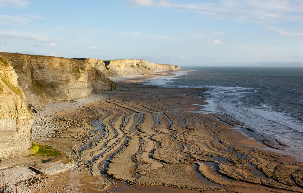 Awesome view of Southerndown Beach