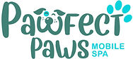 Pawfect Paws mobile spa logo