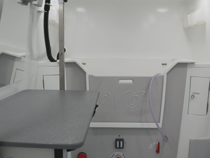 Grooming table and hydrobath