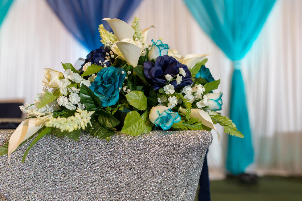 Sweetheart Table Floral Arrangement