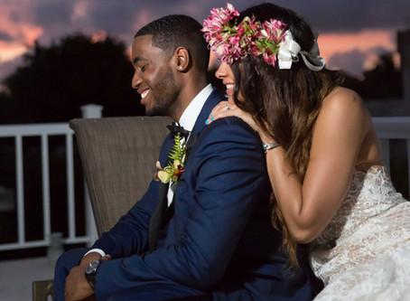 Briana & James' Ravishing, Bohemian-Styled Wedding in Dominican Republic
