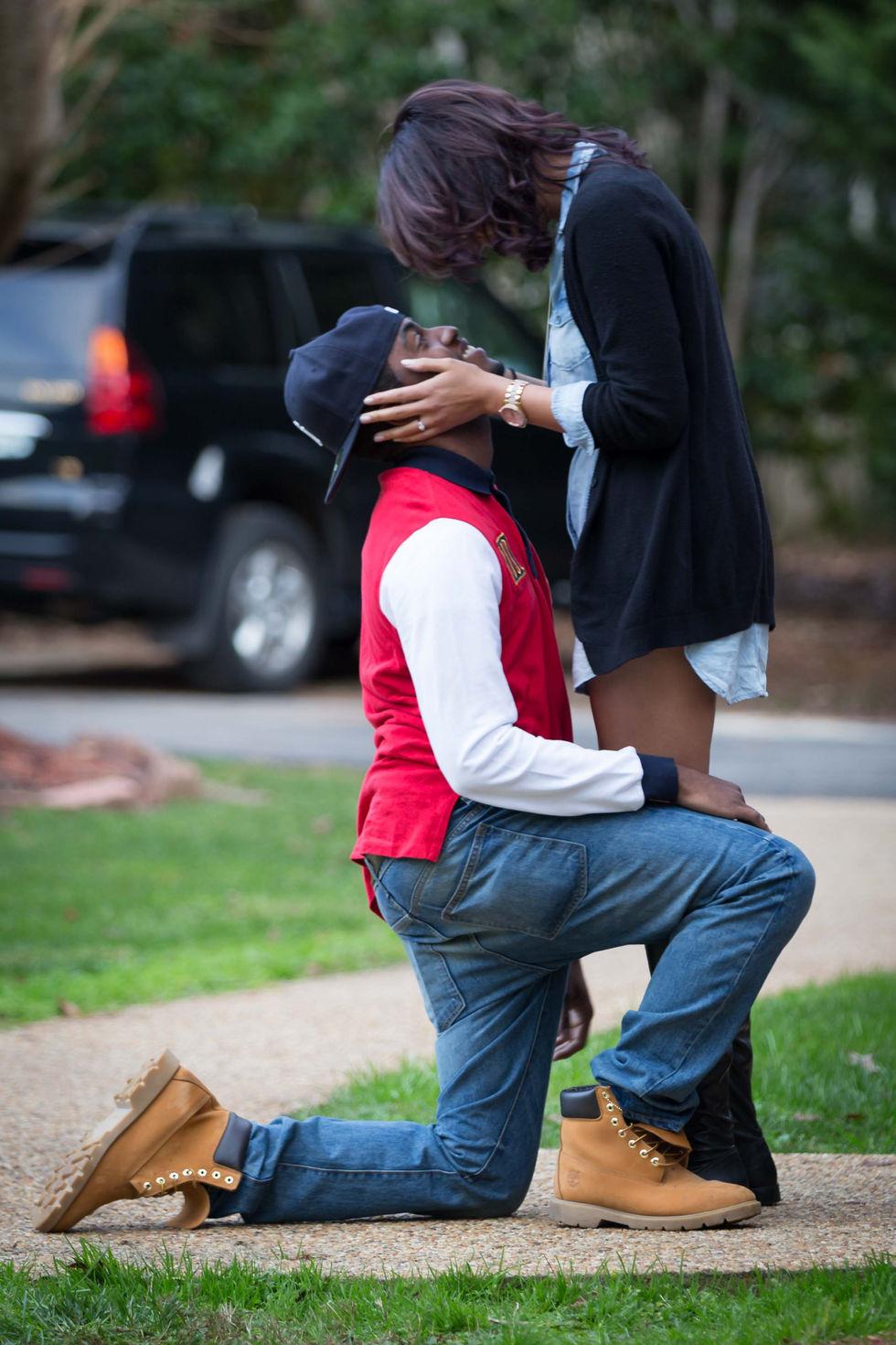 Proposal in Richmond, VA.