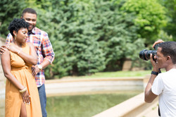 Engagement Session at Meridian Hill
