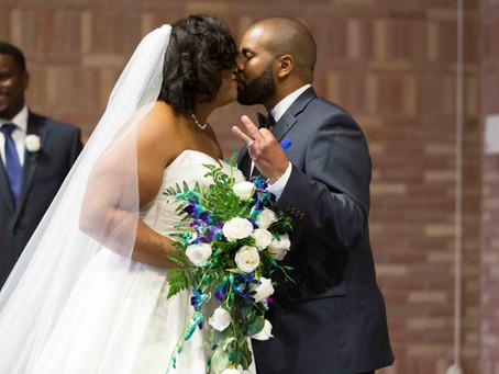 Amber & Jenarius' captivating wedding in Chesapeake, VA