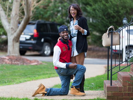 James and Briana are Flying High After This Proposal in Chesterfield