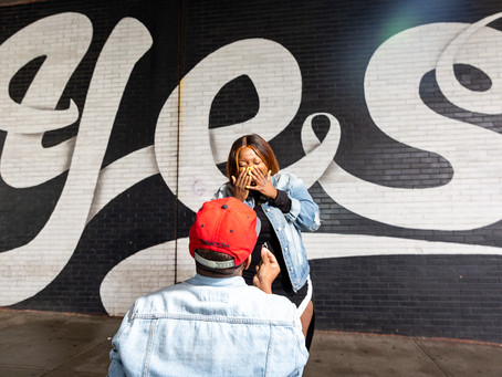 Jade & Christopher's Magnificent Surprise Proposal in Brooklyn, NY