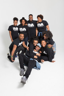Group portrait session at the studio in Richmond, Virginia.