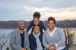 Family portrait session in Oxon Hill, Maryland.