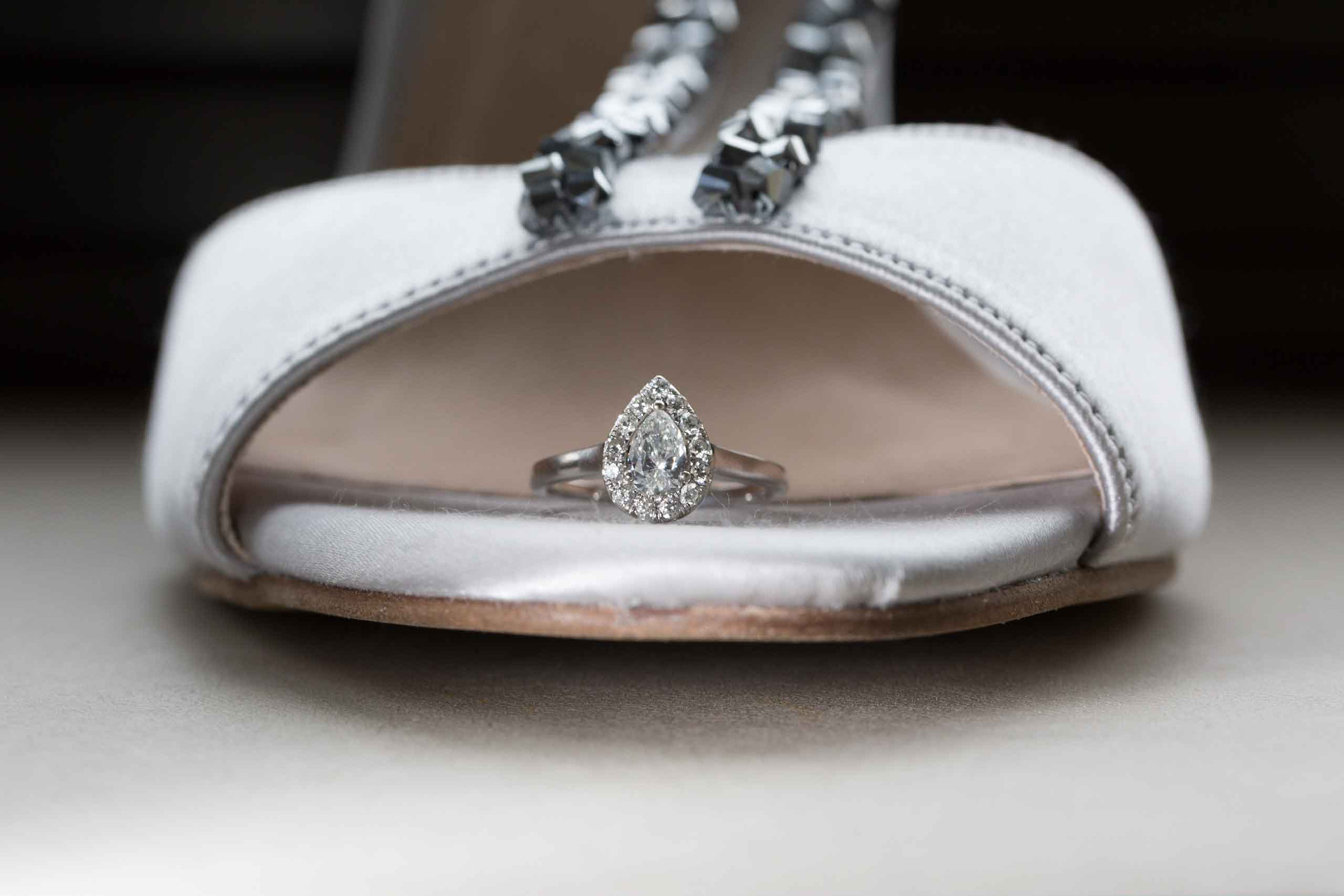 Wedding Ring and Shoes