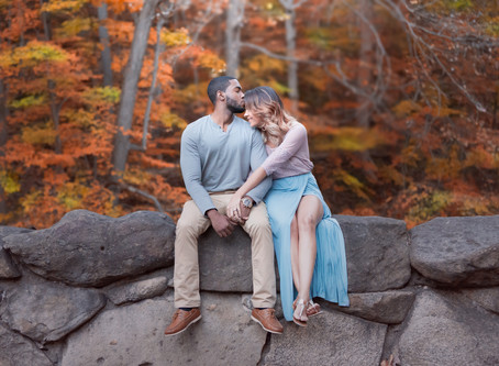 Fall in Love with this Autumn Themed Engagement Session from Briana & James in Washington DC
