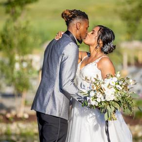 Rustic, Enchanting Garden Wedding in Purcellville, Virginia