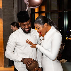 Wedding proposal at La Vie in Washington DC