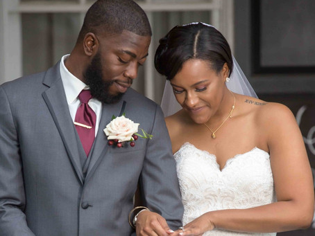 Kiera and Lucious' Charmingly Rustic Wedding in Warrenton