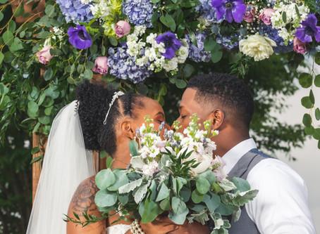 Demitra & Lance's Gorgeous Vista View Wedding at Crosskeys Vineyards in Mt Crawford, VA