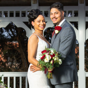 Nicole & Kenneth's Uber Romantic Wedding at Martin's Crosswinds in Greenbelt, Maryland