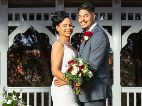 Nicole & Kenneth's Uber Romantic Wedding at Martin's Crosswinds in Greenbelt, Maryland