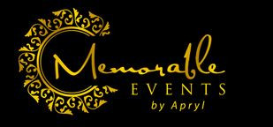 Vendor Review:  Memorable Events