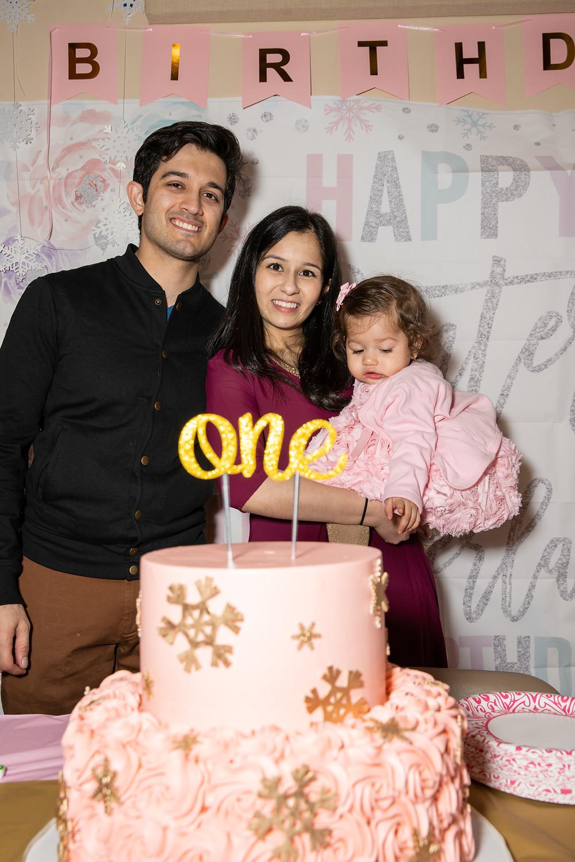 Shreya's Winter One-derful First Birthday Party in Arlington, Virginia