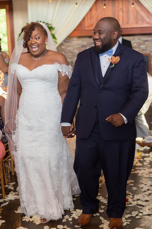 Benn Wedding at the Ashton Creek Vinyard in Chester, VA.