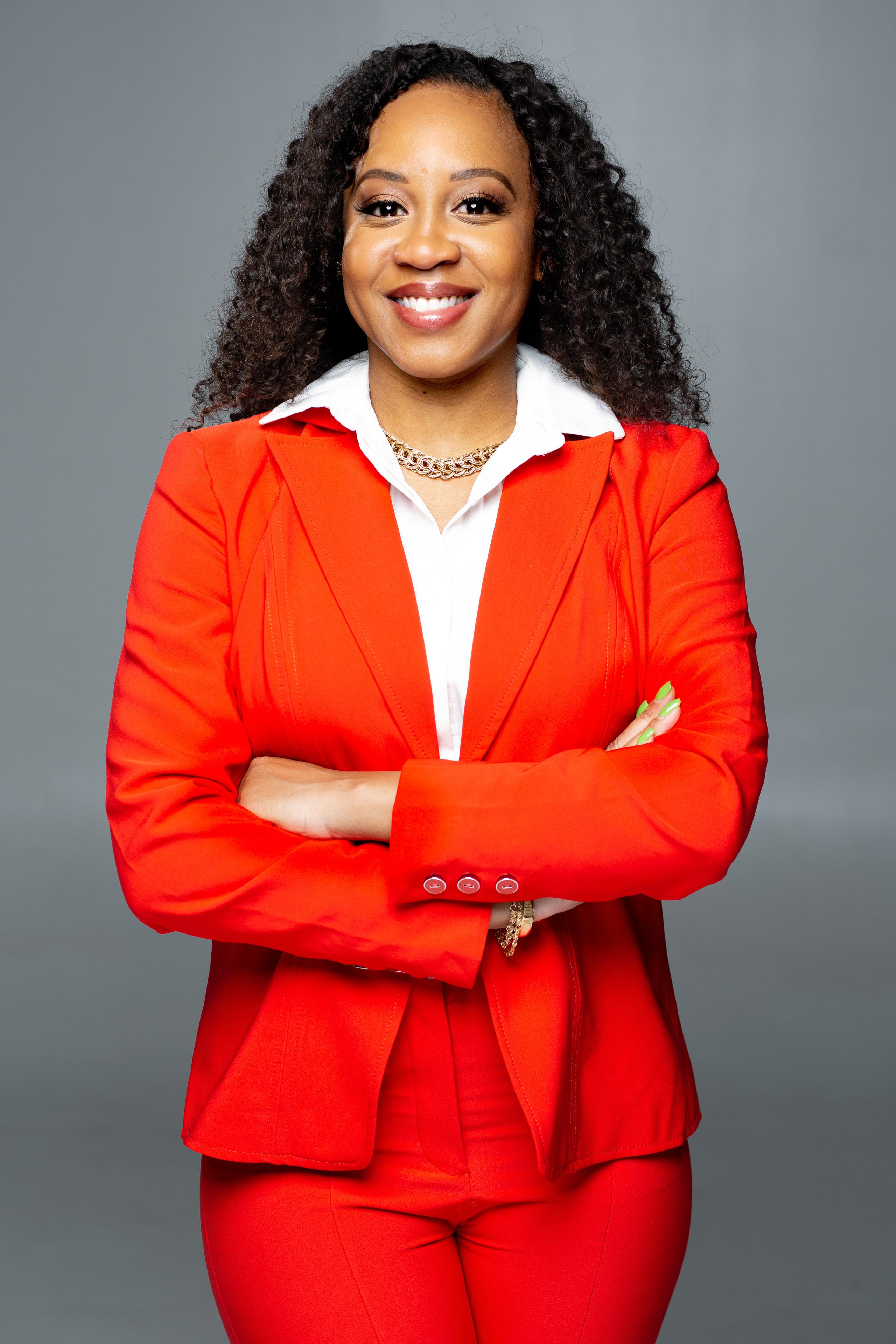 Public Speaker professional headshot for social media content in Alexandria, Virginia.