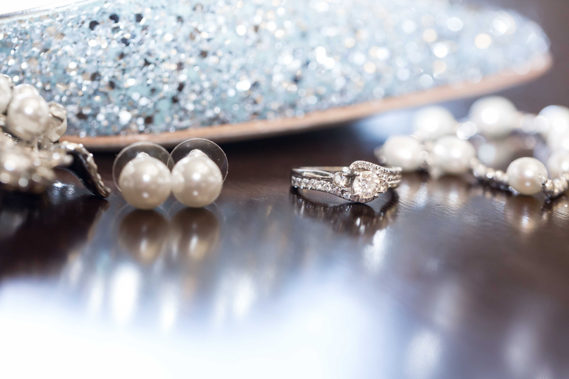 Bridal Accessories and Ring