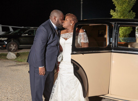 Candace and Travis' Lovely KweKwe and Wedding Ceremonies in Chester, VA
