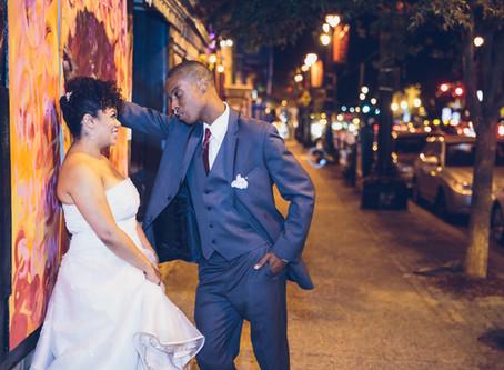 Nicole & Reggie's Dreamy Evening Wedding at Gallery O on H in Washington DC