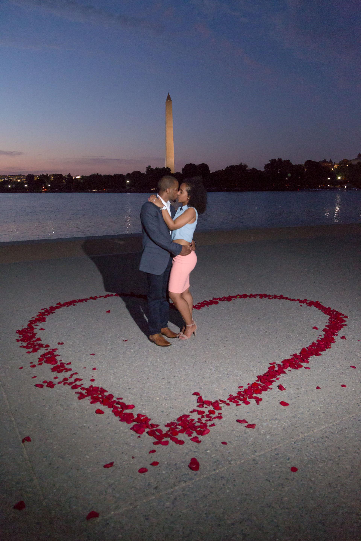 Proposal in Washington DC