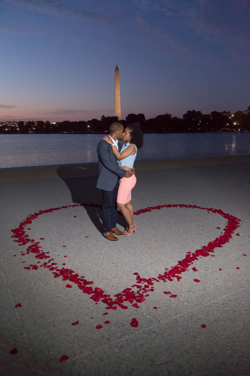 Proposal in Washington DC