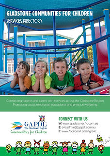 Cover of Child and Family Service Guide.