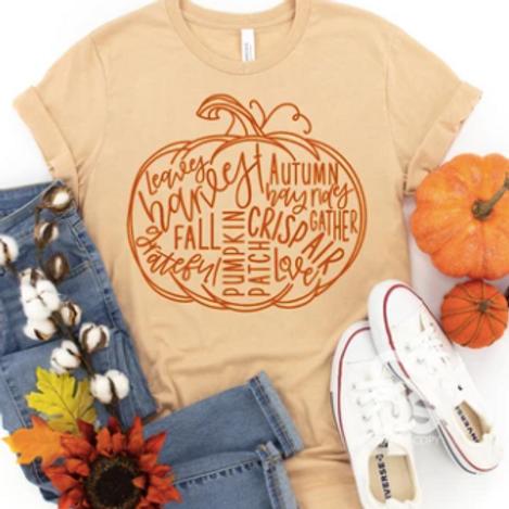 Pumpkin Word Art