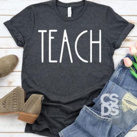 Teach - Rae Dunn Inspired