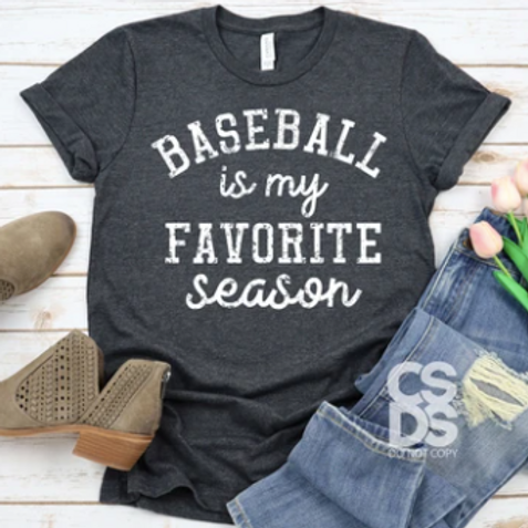 Baseball Is My Favorite Season