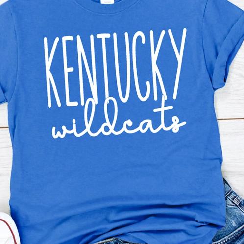 Kentucky Wilcats Script