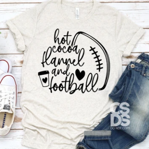 Hot Cocoa and Football