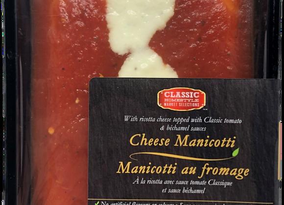 Cheese Mannicotti