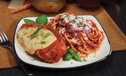 Chicken Parmigiana & Spaghetti HMR