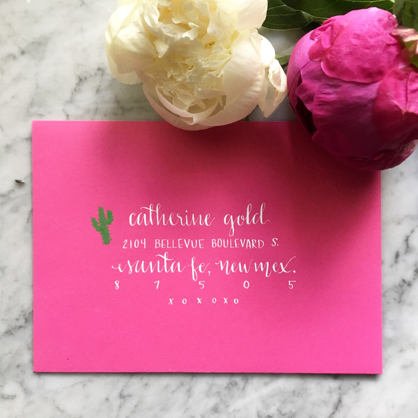 "Pink + White ""Matthew"" Style"