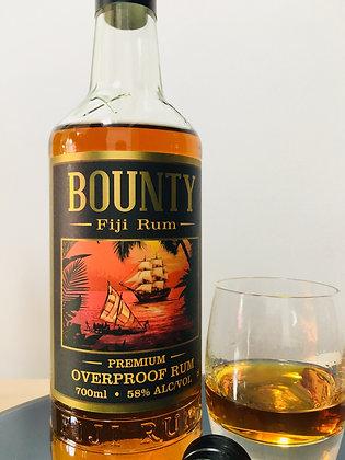 BOUNTY 58% FIJI RUM 1000ML