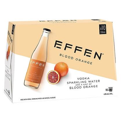 Effen Blood Orange Vodka 10x330Ml Bottles