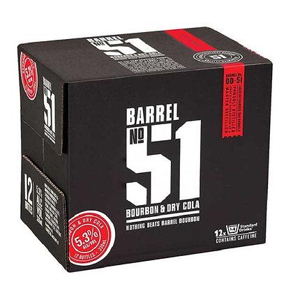 Barrel 51  12x330Ml Bottles