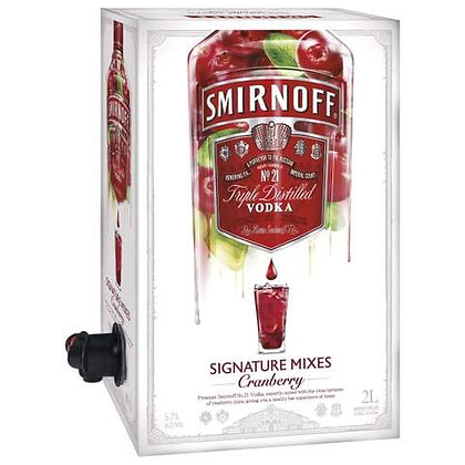 Smirnoff  Cranberry Cask 2L
