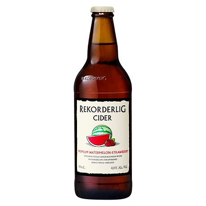 REKORDERLING WATERMELON CIDER 4X330ML BOTTLES