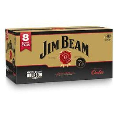 Jim Beam Gold 8x330Ml Cans