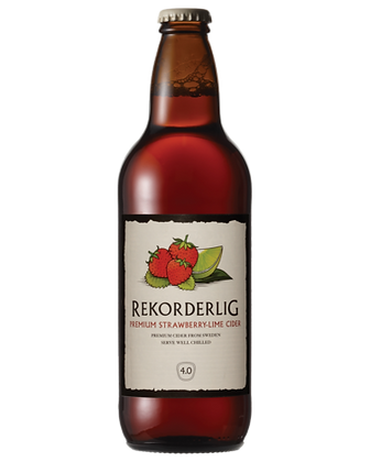 REKORDERLING STRAWBERRY LIME CIDER 500ML BOTTLES