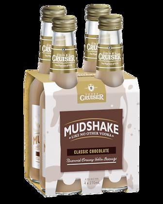 Mudshake Chocolate  4x270Ml Bottles