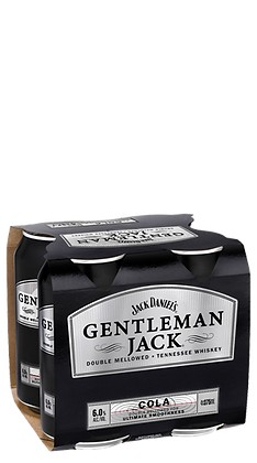 Gentleman Jack Cola 4x330Pk Ml Cans