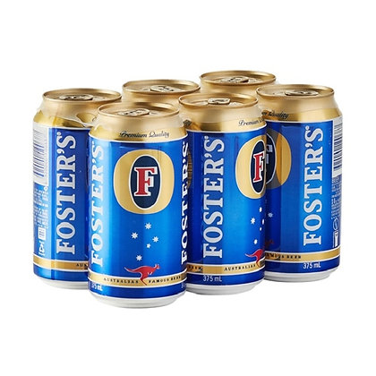 FOSTER 6X330ML CANS